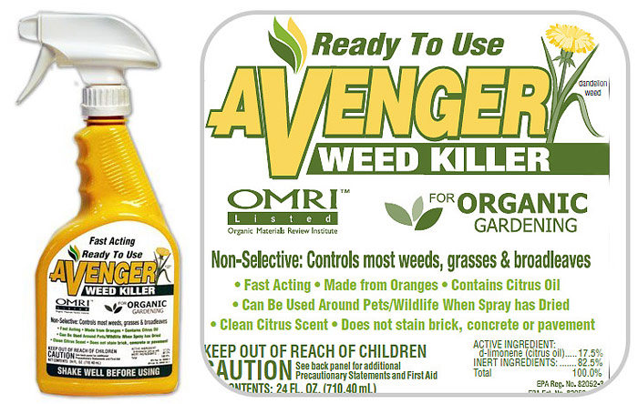 Vinegar-Based and Citrus-Based Herbicides