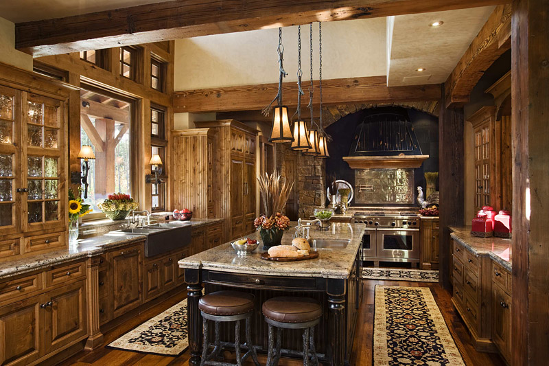 Fabulous Ontario Residence With Rustic Interior Design