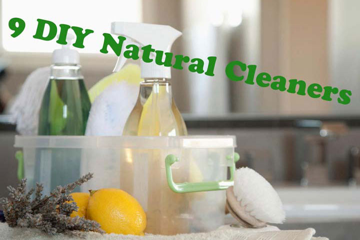 9 DIY Natural Cleaners
