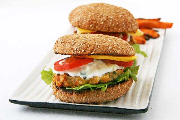 BBQ Turkey Burger