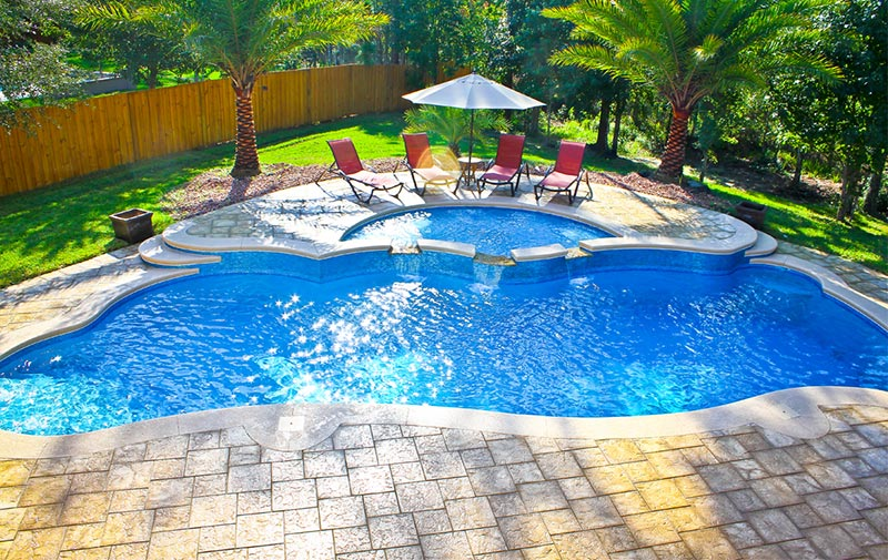 Backyard pool designs for contemporary residences quiet for Best pool designs 2016