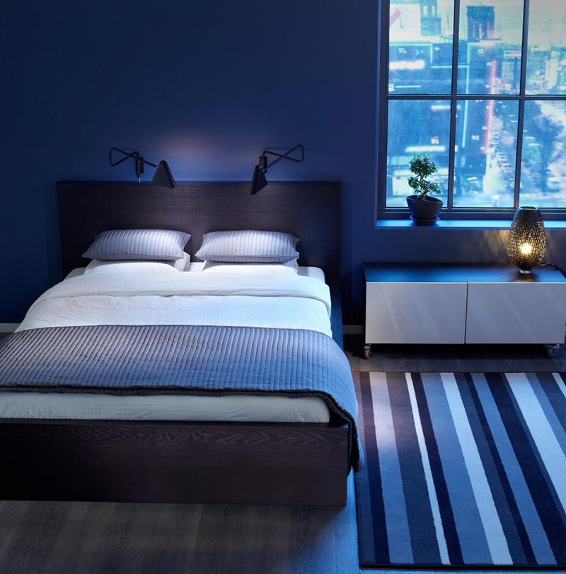 Quiet Corner:Blue Bedroom Ideas and Tips - Quiet Corner
