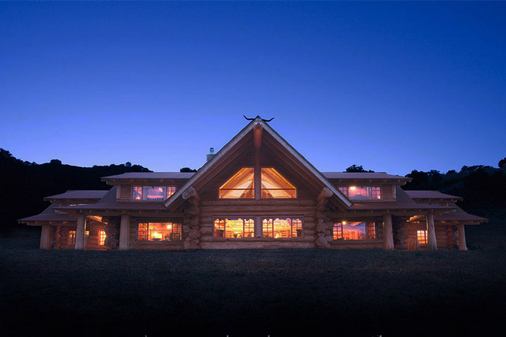 California Dreaming: Luxury Log Home