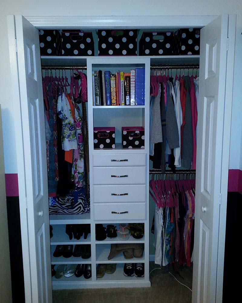 Quiet corner cute small closet ideas quiet corner - Small closet storage ideas ...