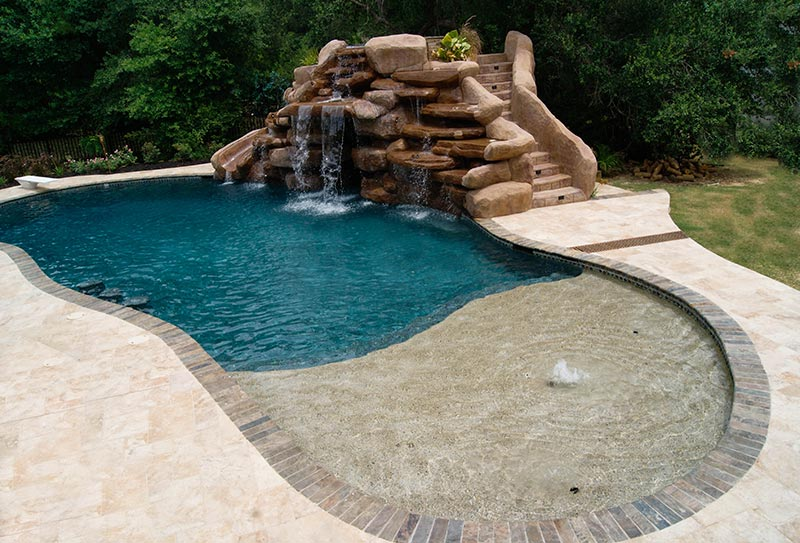 Free form pool designs ideas quiet corner for Pool design 2016