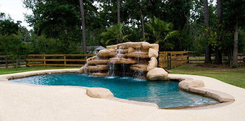 Free Form Pool Designs Ideas - Quiet Corner