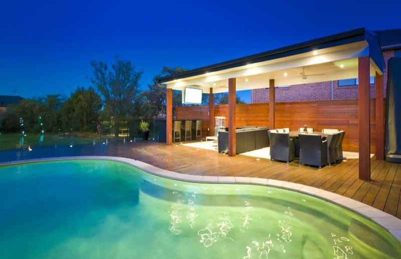 free form pool designs ideas quiet corner