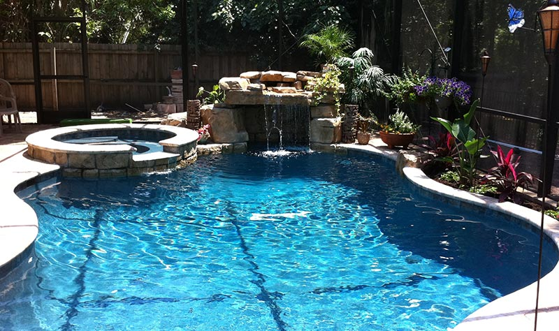 Free Form Pool Designs Ideas