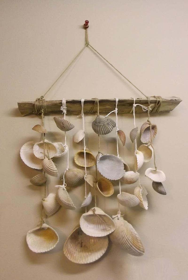 Quiet Corner:Great DIY Seashell Wind Chimes Ideas