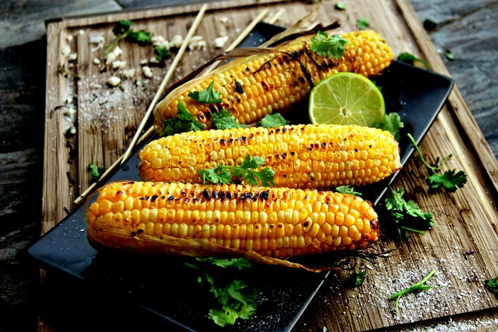 Grilled Corn on the Cob with Chili and Lime Recipe - Quiet ...