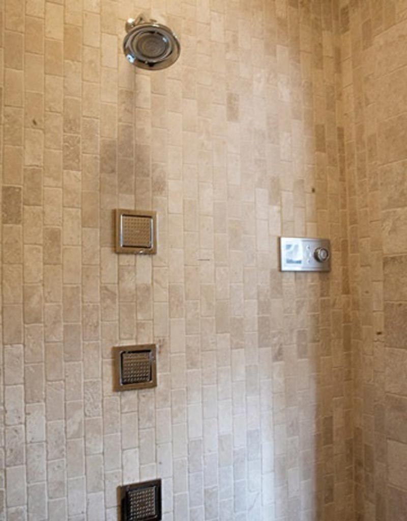 Shower tile ideas quiet corner for Bathroom ceramic tiles design