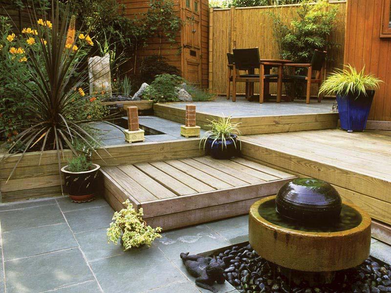 Quiet Corner:Small Backyard Ideas Enlarging Your Limited ...