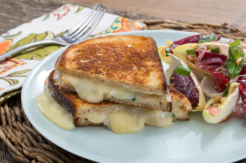 Summer Grilled Cheese