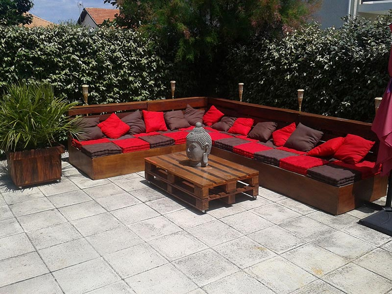 wonderful wood pallet outdoor furniture ideas - Garden Furniture Wooden Pallets