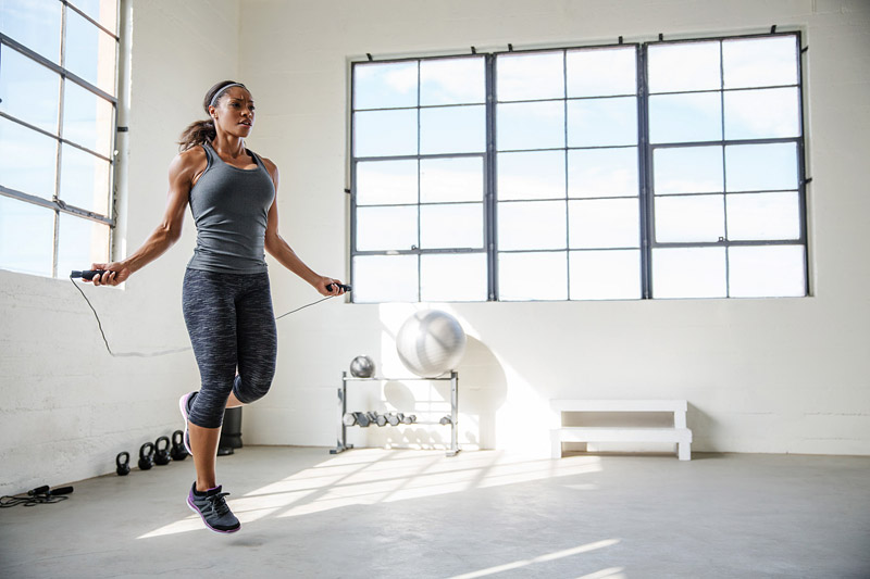 15-Minute Jump-Rope Workout