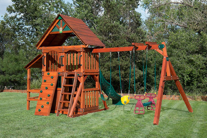 DIY – Backyard Wooden Swing Set