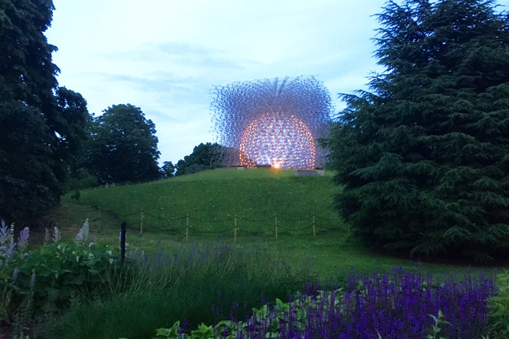 """The Hive"" Sculpture Controlled by Actual Be"