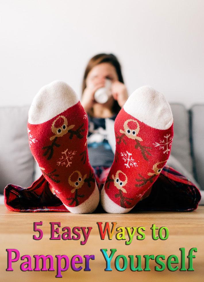 Stress Relief - 5 Easy Ways to Pamper Yourself - Quiet Corner