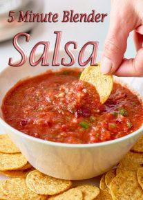 5 Minute Blender Salsa Recipe