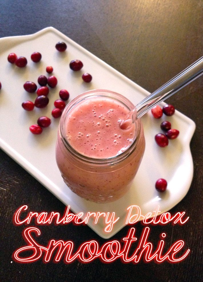 Cranberry Detox Smoothie Recipe