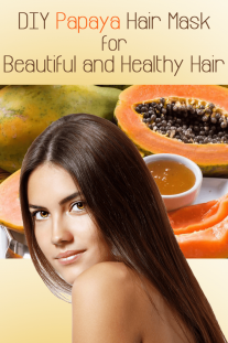DIY Papaya Hair Mask for Beautiful and Healthy Hair
