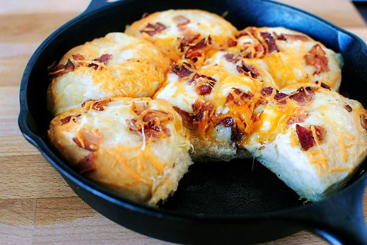 Easy Cheese Bacon Biscuit Recipe