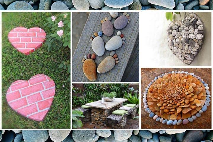Easy diy garden projects with stones quiet corner for Diy garden crafts