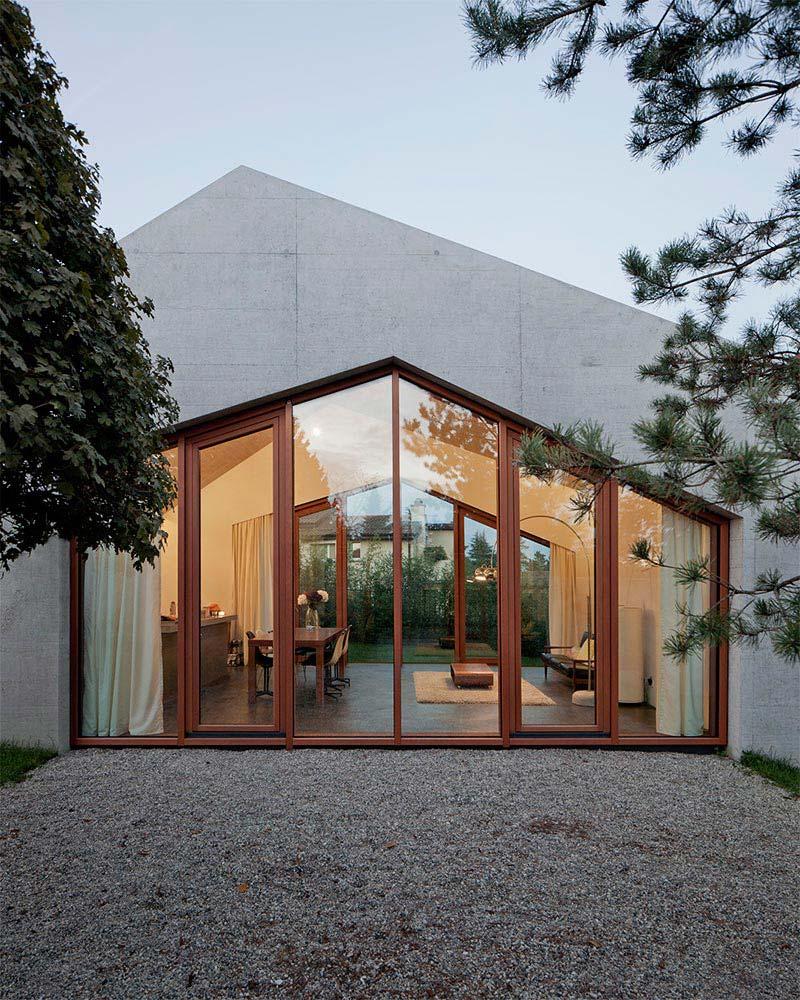 Family house localarchitecture architecture quiet corner for Local architects