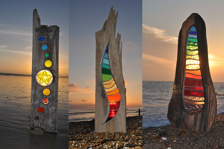 Louise Durham - Turning wood and glass into a piece of art - Quiet Corner