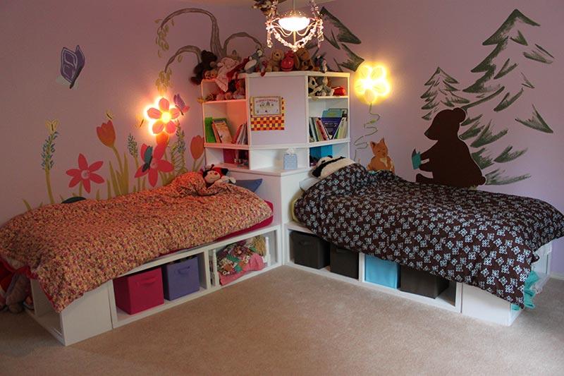 Quiet Corner Lovely Kids Bedroom Designs Quiet Corner