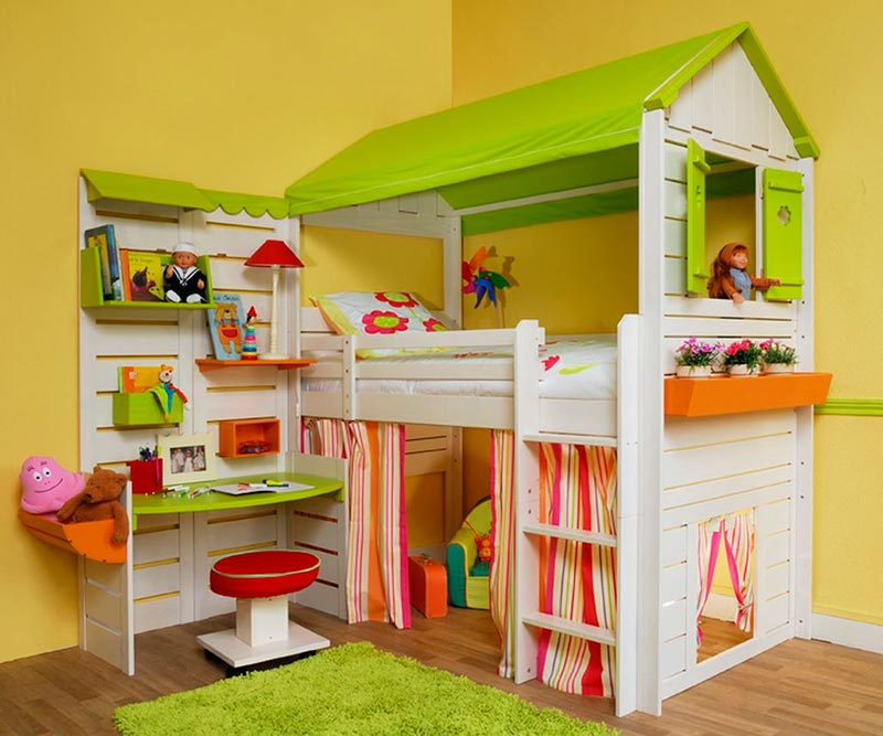 Lovely kids bedroom designs quiet corner for Kids bedroom designs