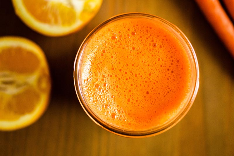Orange, Carrot & Ginger Detox Juice