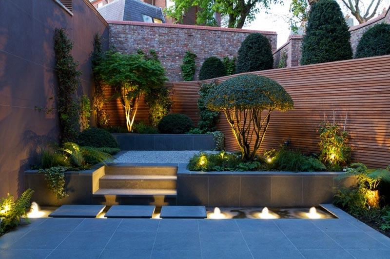 Sloping Garden Design Ideas - Quiet Corner on Sloping Back Garden Ideas id=12461