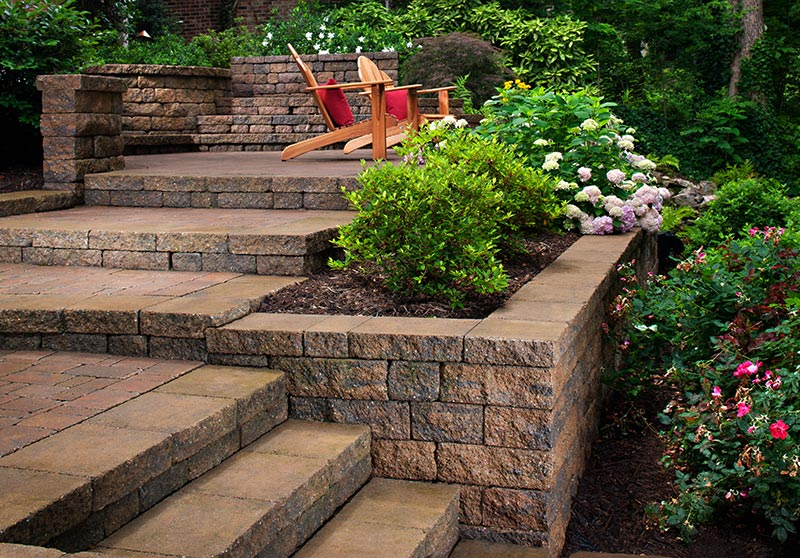 Garden Design On A Slope sloping garden ideas 15 excellent sloped garden ideas. patio