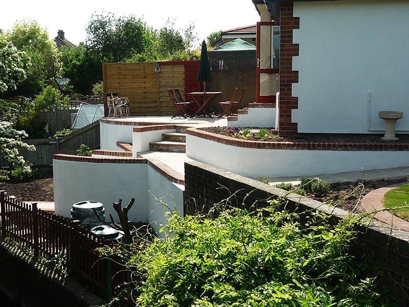 Sloping Garden Design Ideas - Quiet Corner on Sloping Back Garden Ideas id=42443