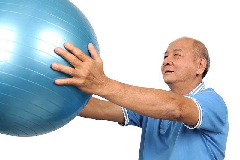 Stability Ball Exercises for Seniors