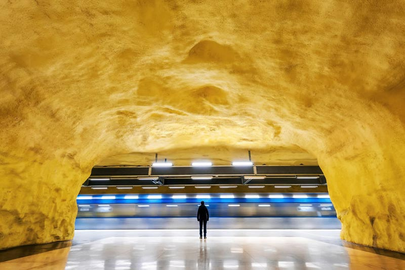 World's Most Beautiful Metro Stations