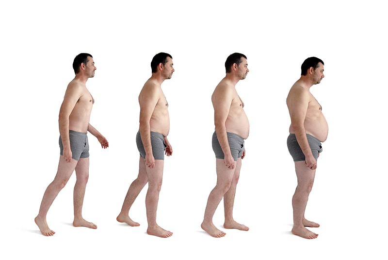 Aging and Weight Gain: Why It Happens?