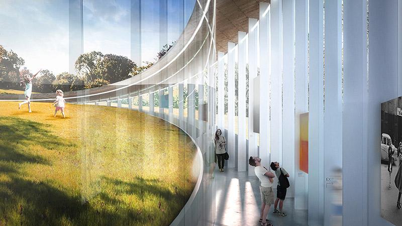 Architecture cedar hill loop pavilion concept quiet corner for Pavilion concept architecture