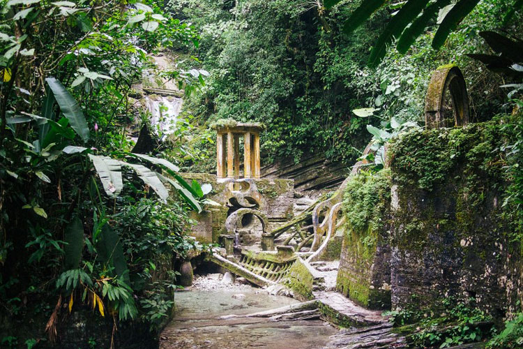 Las Pozas - Surrealist Garden in a Mexican Jungle