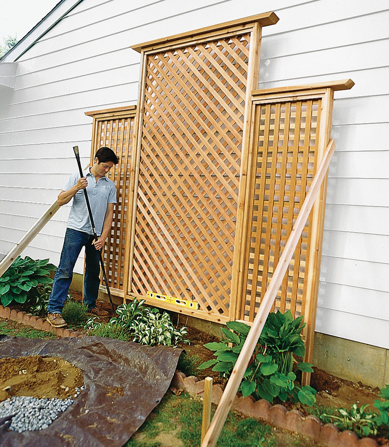 how to make a trellis