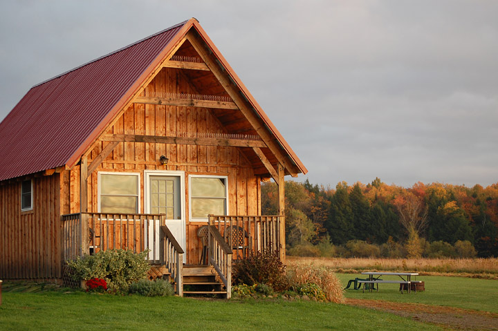Amish Built Cabins : Amish cabins simple log built for relaxation