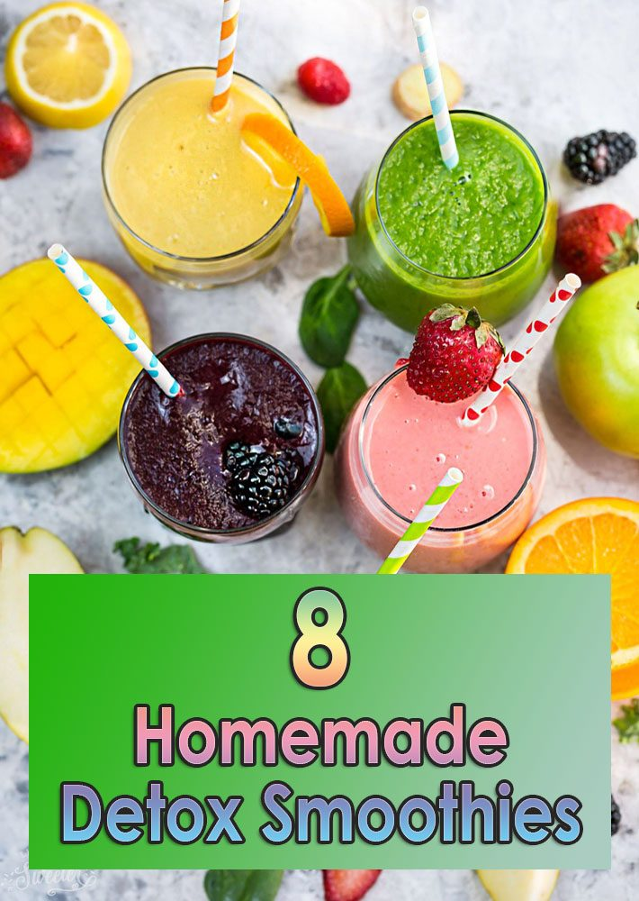 Quiet Corner:8 Homemade Detox Smoothies