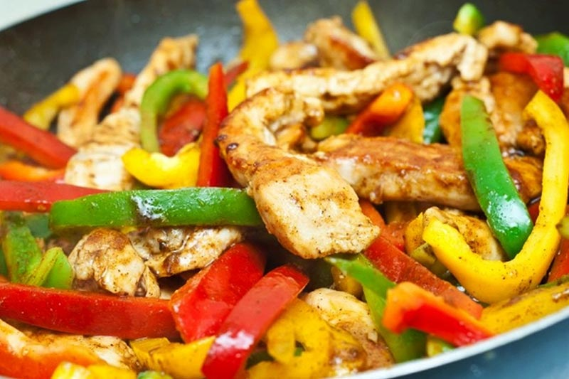 Basic Chicken Fajitas Recipe