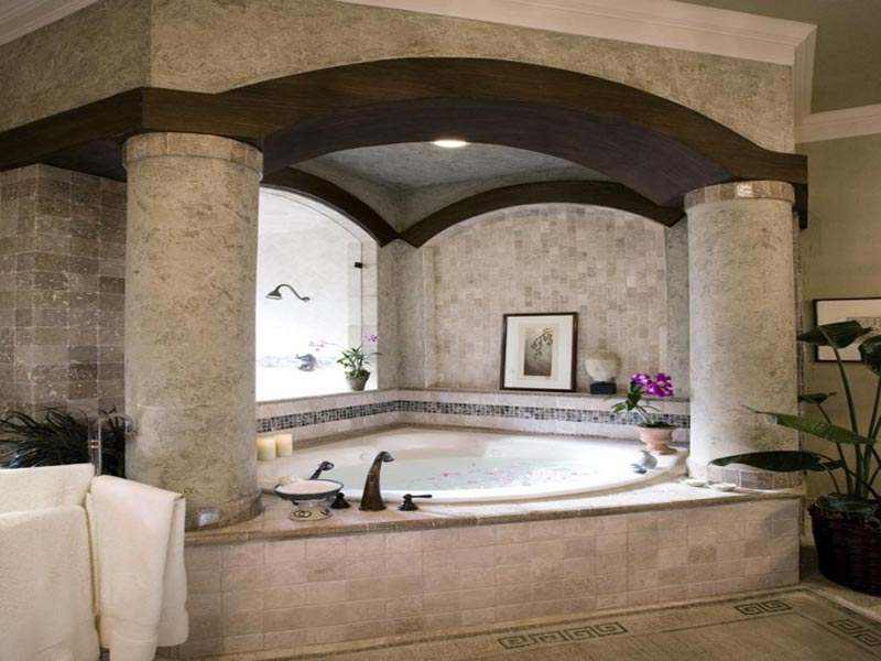 Beautiful Bathtubs beautiful bathroom design ideas - quiet corner