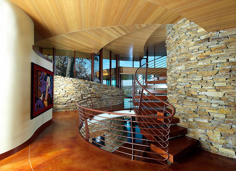 Chenequa Residence by Organic Architect R.H. Oshatz