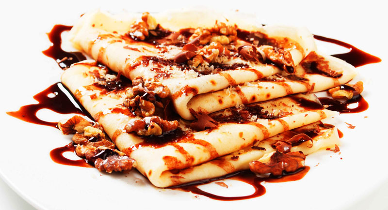 Easy Classic Crepes Recipe