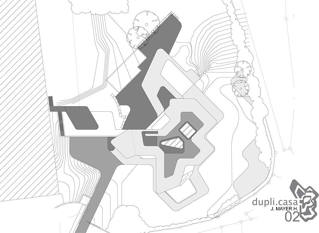 Futuristic and Modern Dupli Casa by J. Mayer H. Architects