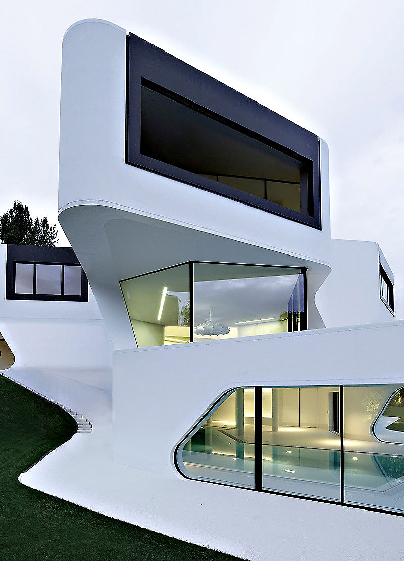 Futuristic and Modern Dupli Casa by J. Mayer H. Architects ...