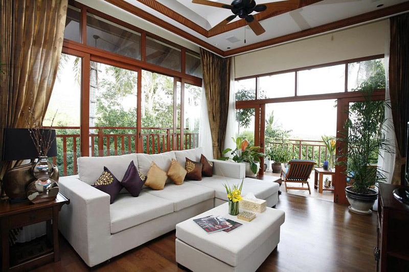 Lovely sunroom design and decor ideas quiet corner for Tropical interior design ideas